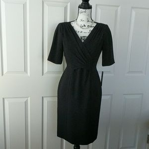 Tahari black dress